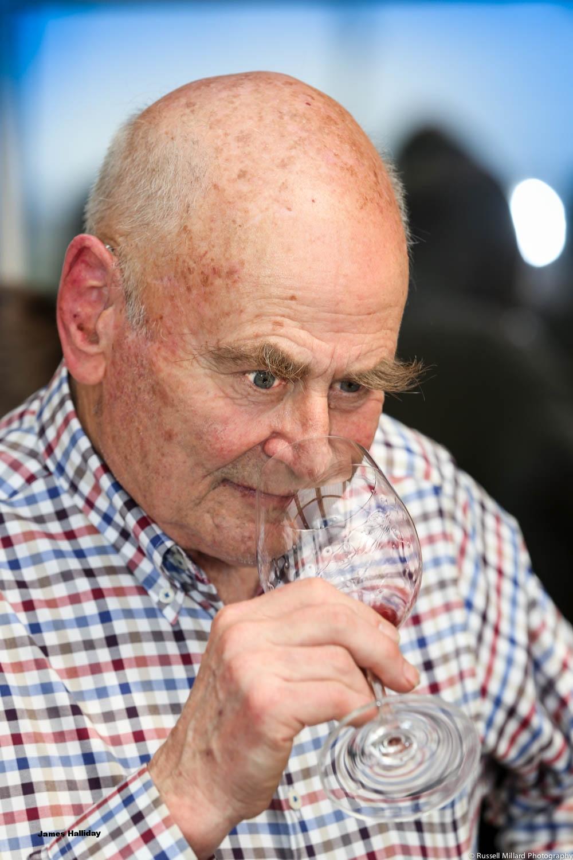 Wine expert James Halliday.