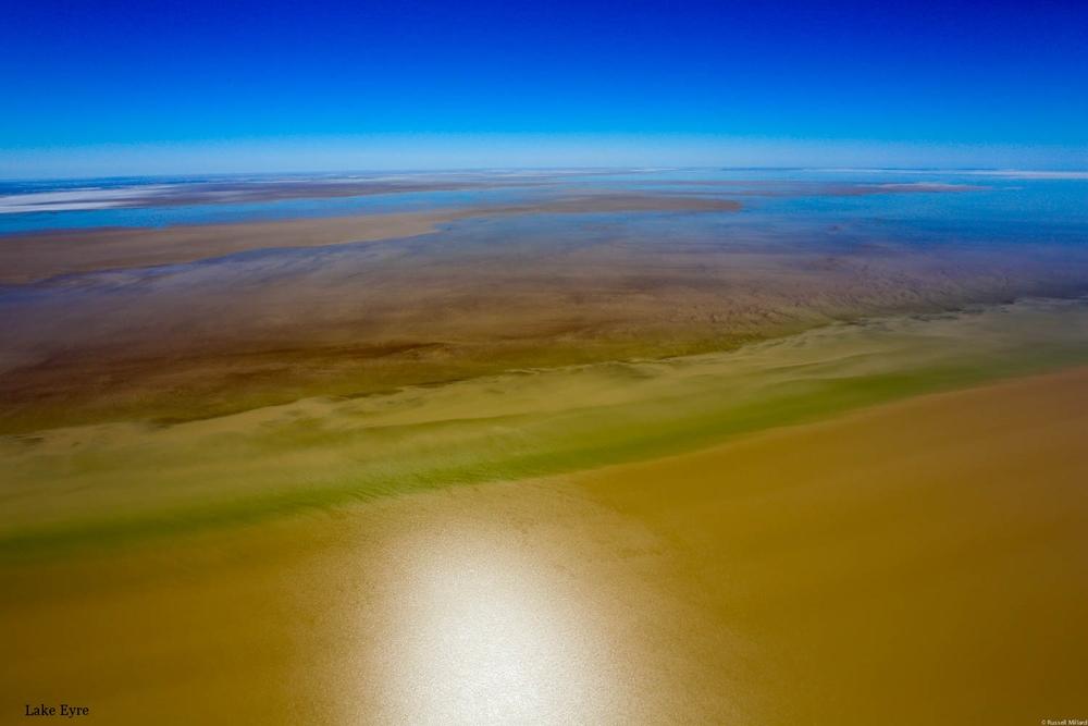 Flooding Lake Eyre