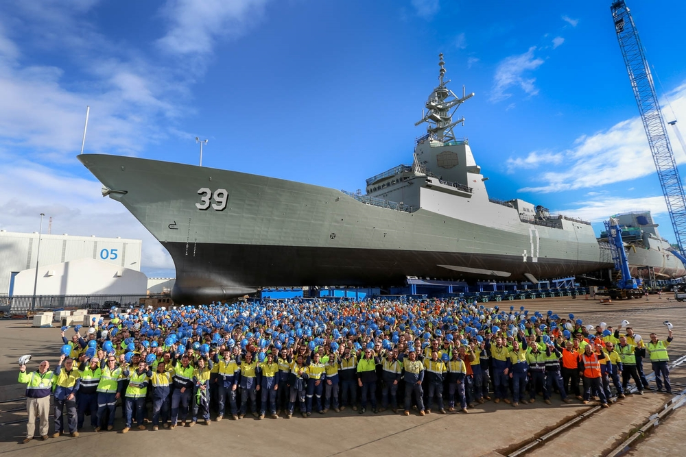 AWD Work force group photograph