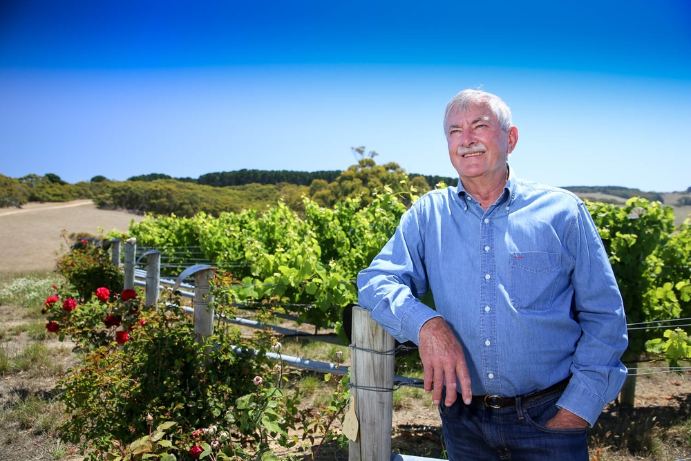 Wine maker Brian Croser