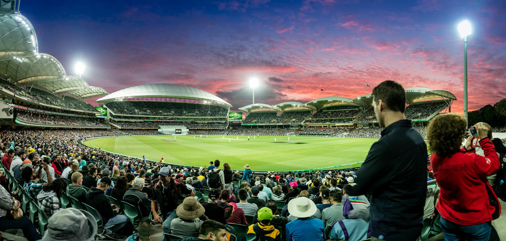 First Day & Night Test Adelaide Oval