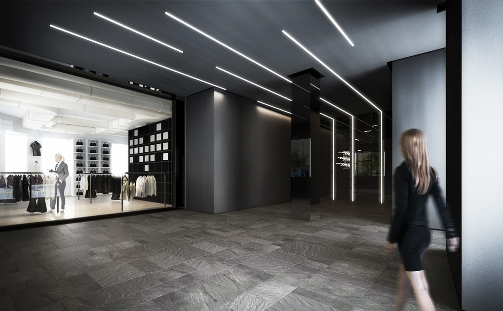 40 King St - Lobby & Retail