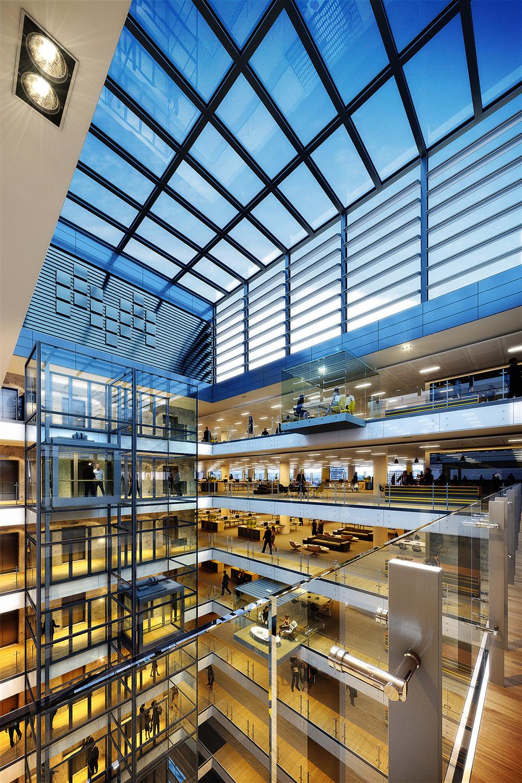 Corporate Atrium - Dusk