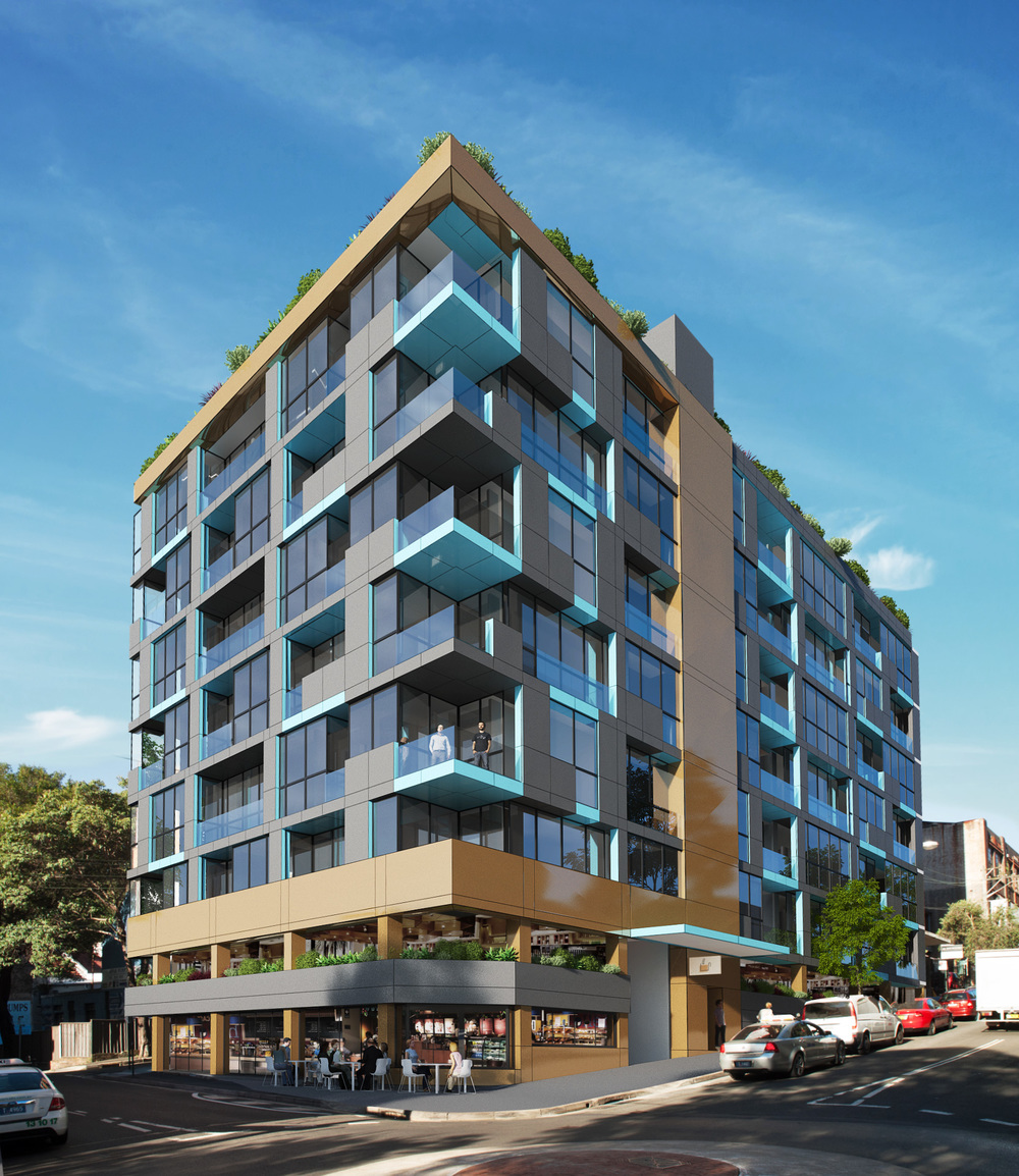 Kippax St - Exterior Photomontage - completed in one working day!