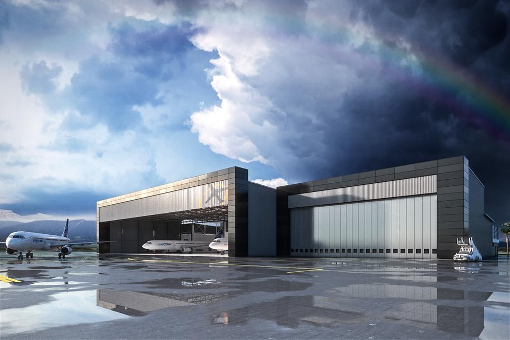 Aircraft Hangar - Sepang Malaysia