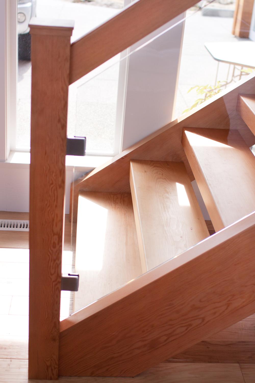 Prentice, custom Staircase, Comox BC