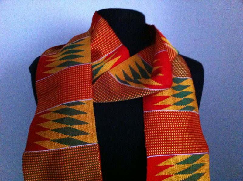 Kente cloth strip