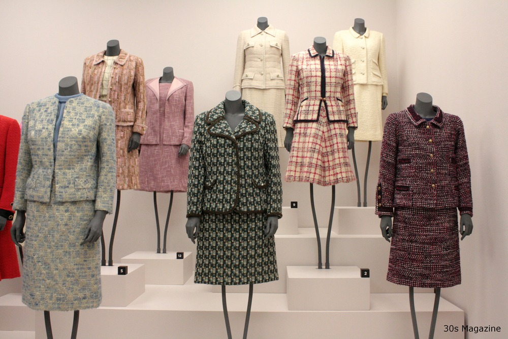 Chanel Suits on display / Gemeente Museum den Haag