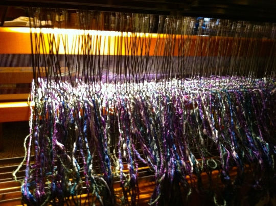 Gratuitous picture of my loom to make this blog about weaving.