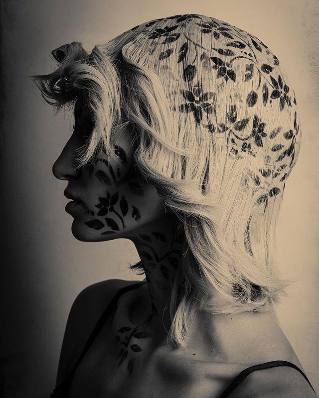Palladium toned Stencilled wig⚡️⚡️⚡️#created by the amazing  #hmua  @naturalbornpirate with @katie_yudina #photography #artdirection #stencilart #makeupartist #makeuplook #beautygram #regram #stencilartist #stencilartwork #stenciltattoo #stencildesign #makeupart #etherealbeauty #ethereal_softness #beauty #wigstyle #wigstyle  #beautygram #beautyaddict #makeupaddict #fineartist #palladium #shadowsandlights