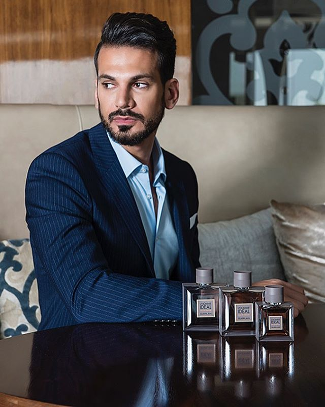 The wonderful @nouraldin1 wearing @louisvuitton for @guerlainme guerlainme fragrance L'Homme Ideal for LOfficiel ME. #photography #creativedirection @belindamullerphoto #styling @vasilbozhilov #hair @shindesuofficial #assistant @xavier.yan #mua @alexandralynnmakeup for @guerlainme #photographed at the @sheratondubaicreek #lighting @profotoglobal #profotob1 #profotobts #locationphotography #productphotography #portraitphotography #fashion #style #fragrance #nikond800