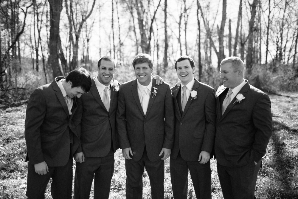 One of my favorite photographs of the groomsmen