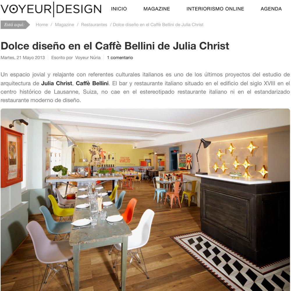 Voyeur|design