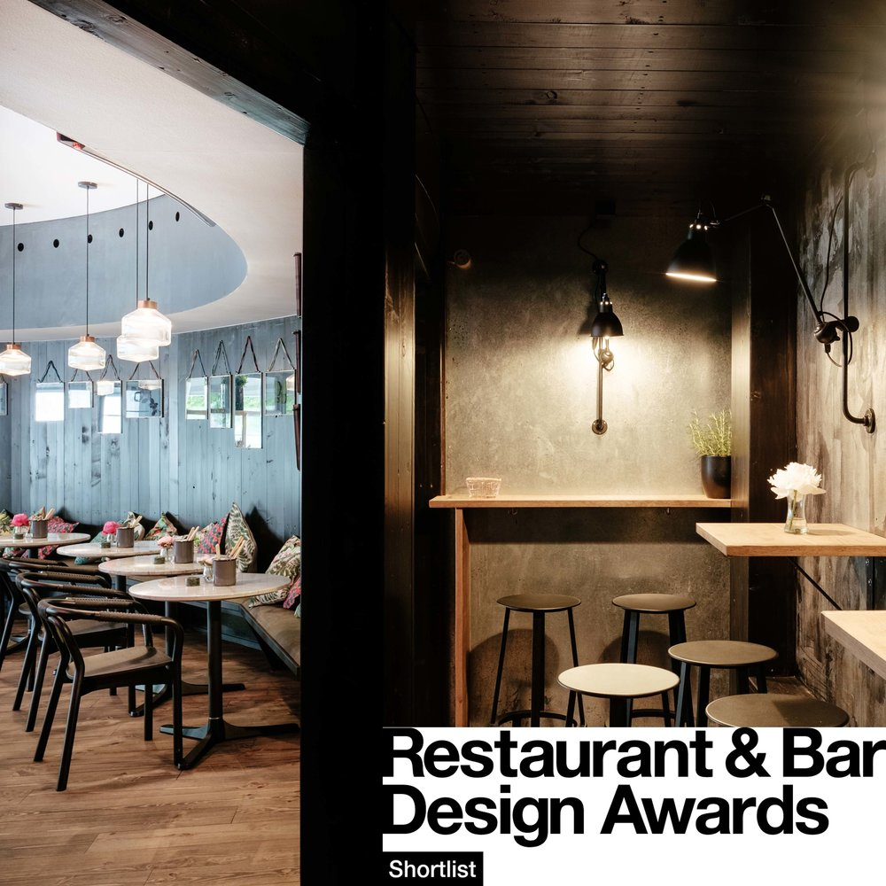 Pavillon Bar shortlisted for the Restaurant and Bar Design Awards 2017