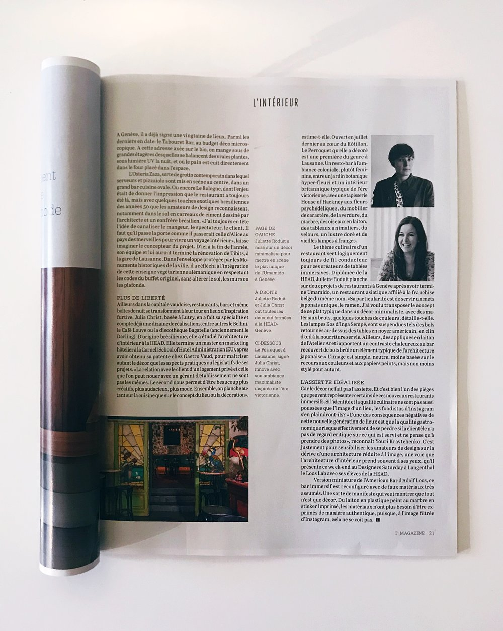 T Magazine - Spéciale design