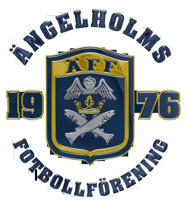 Ängelholms Soccer Team Logo