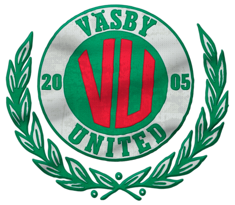 Väsby United Soccer Team Logo