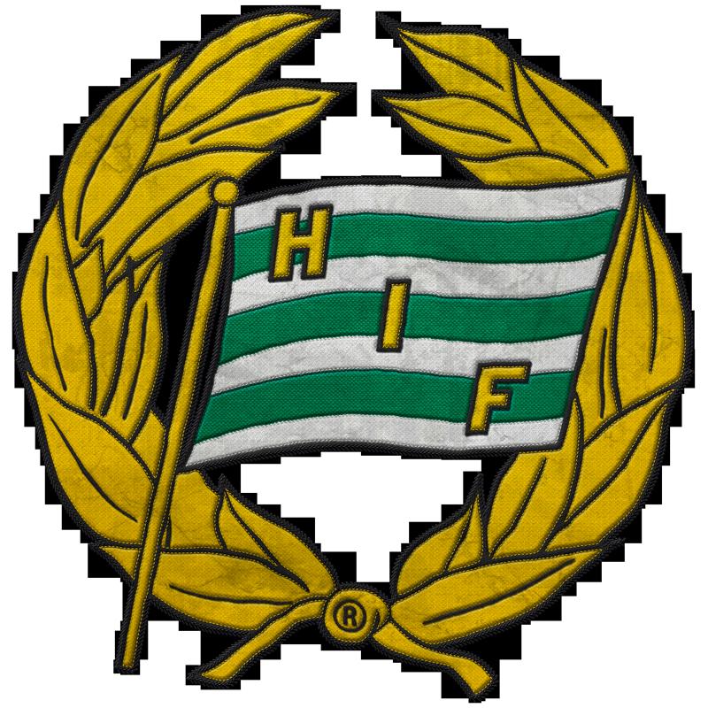 Hammarby IF Soccer Team Logo