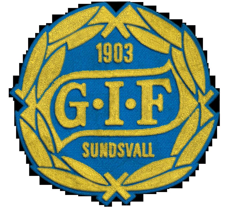 GIF Sundsvall Soccer Team Logo