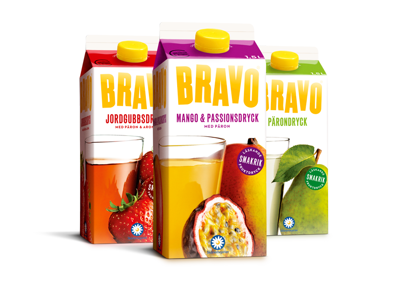 BRAVO Fruktdryck 1.5L