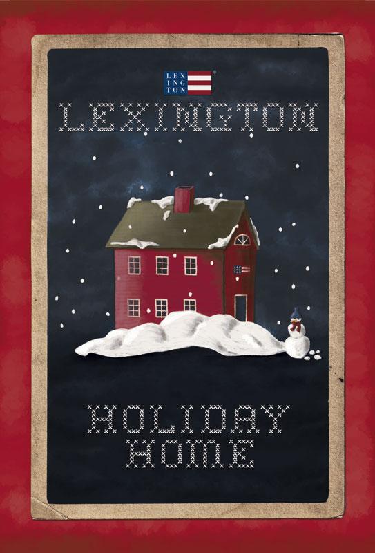 Lexington Christmas Illustration