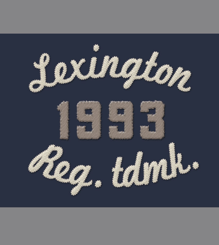 Lexington Jersey Rugger Design