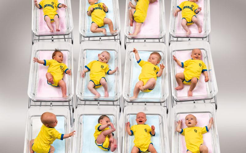 Nationalsporten 2010 Babies