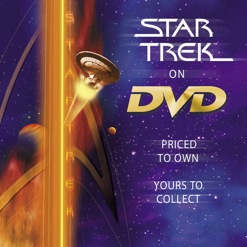 Star Trek In-Store DVD Header