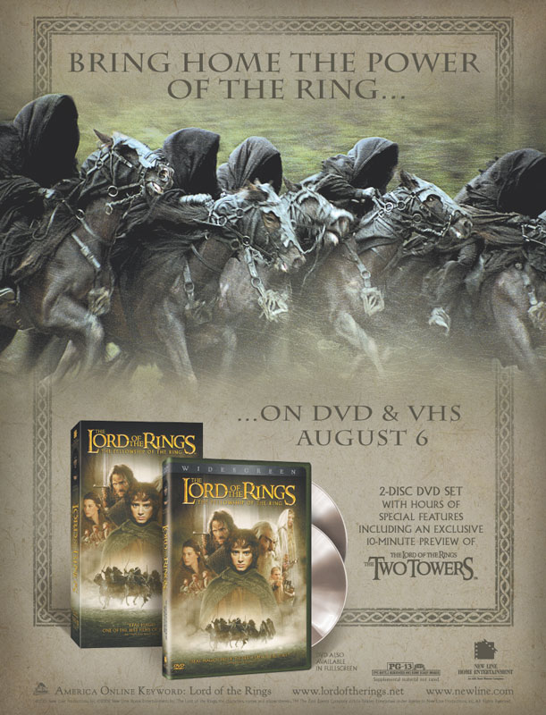 Lord of the Rings S.E. Consumer Ad