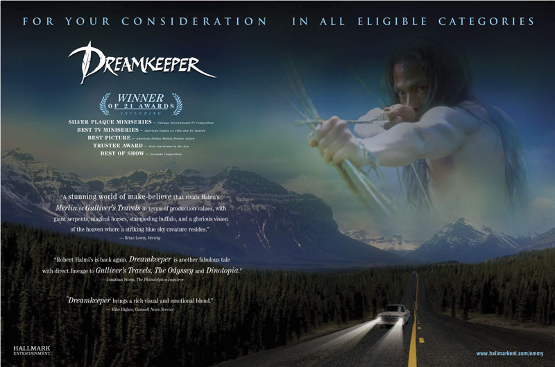 Dreamkeeper For Your Consideration Ad