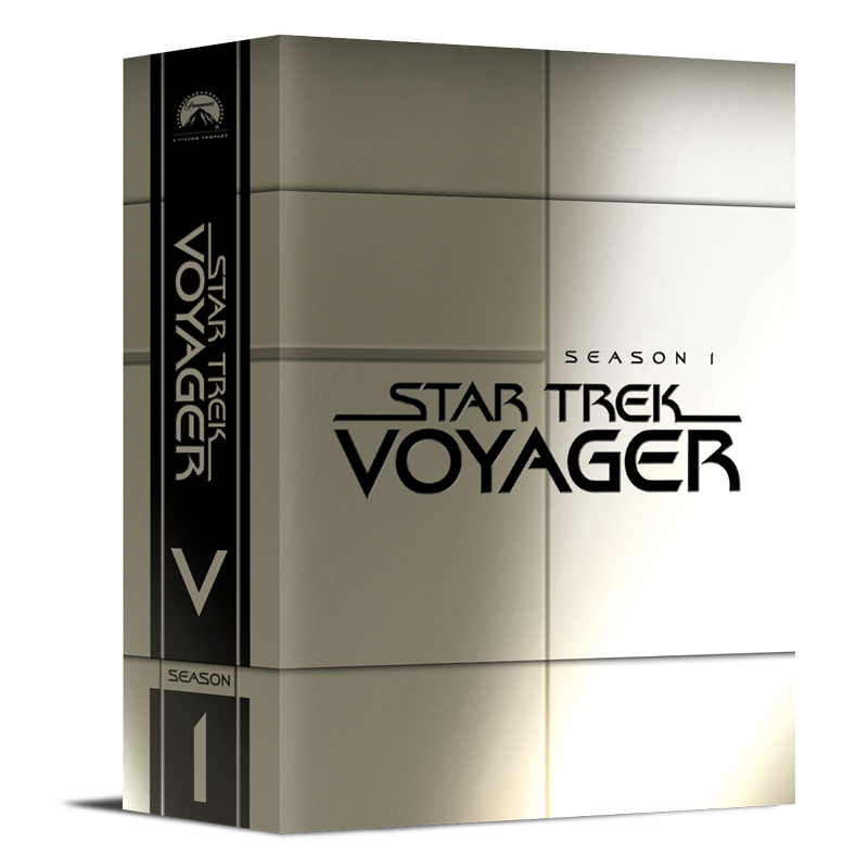 Star Trek Voyager DVD Collection Comp