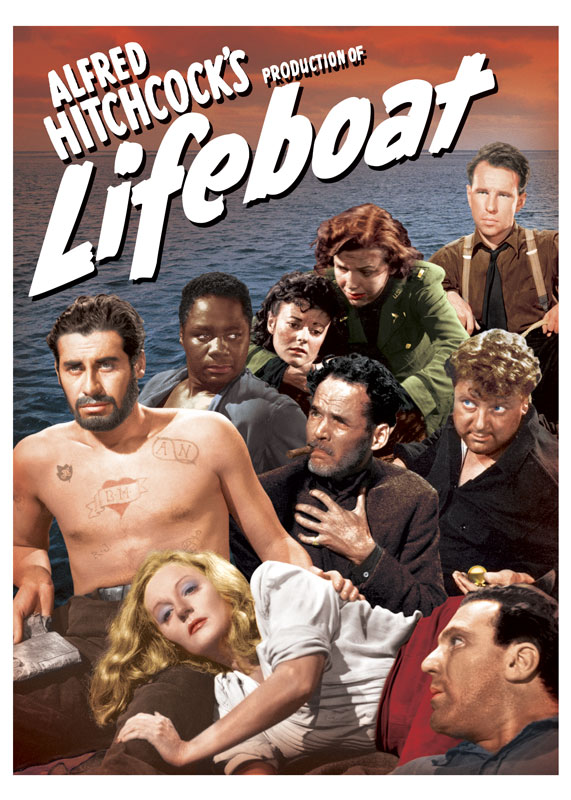 Alfred Hitchcock's Lifeboat Key Art Comp
