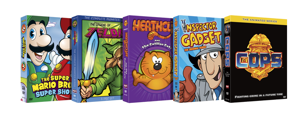 Cartoon DVD's Keyart
