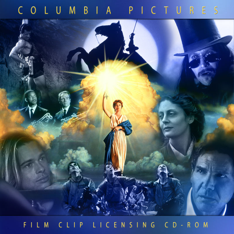Columbia Pictures Clip Licensing CD