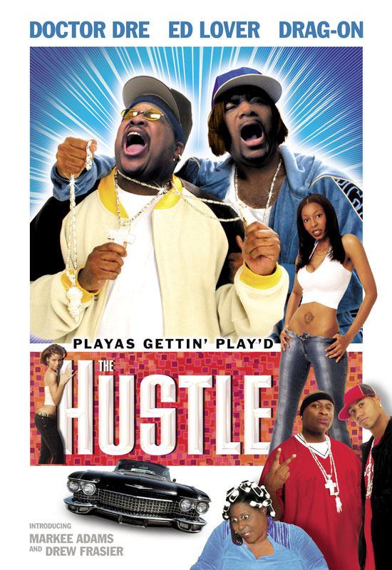 The Hustle Onesheet Keyart