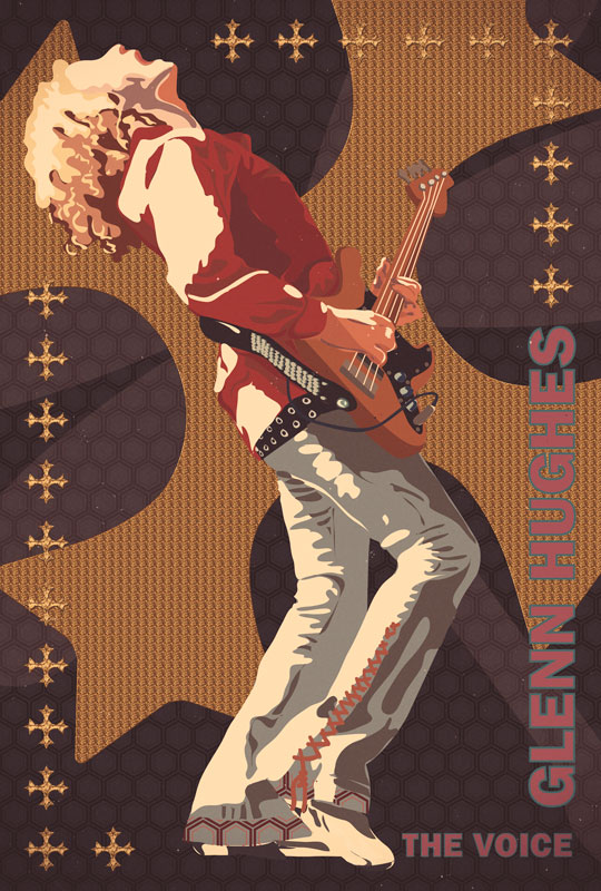 "Glenn ""The Voice"" Hughes Poster"