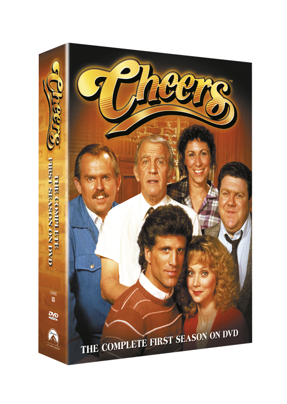 Cheers Season 1 DVD Packaging