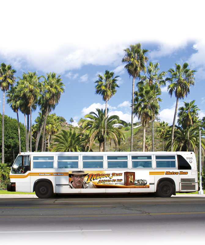 Indiana Jones Collection Bus Ad