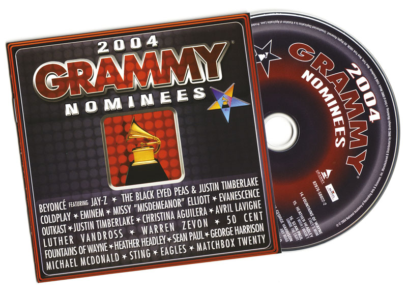 2004 Grammy Nominees CD Booklet