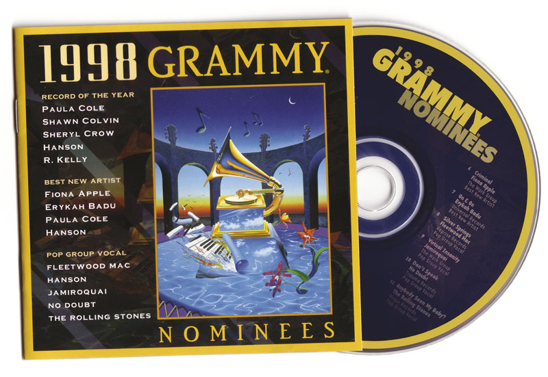 1998 Grammy Nominees CD Booklet