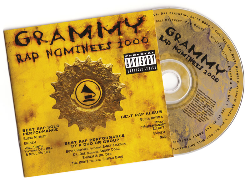 2000 Grammy Rap Nominees CD Booklet