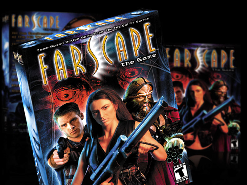 Farscape Game Packaging