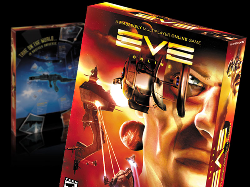 EVE Game Packaging