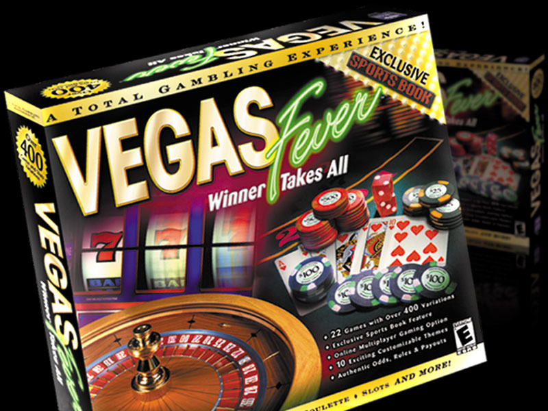 Vegas Fever Game Packaging