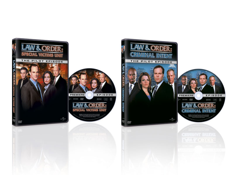 Law & Order DVD Packaging