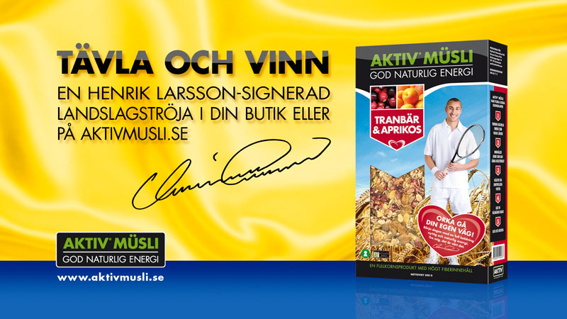 AKTIV Müsli TV-Commercial