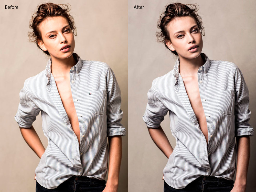 Photo Retouch Female Model