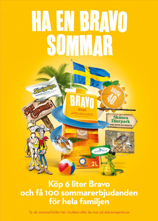 """Ha en Bravo Sommar"" In-Store Sign"