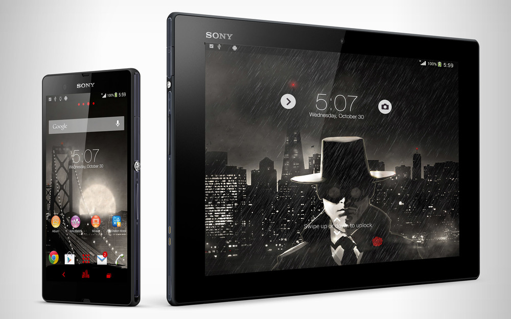 Noir Theme for Sony Xperia Phones