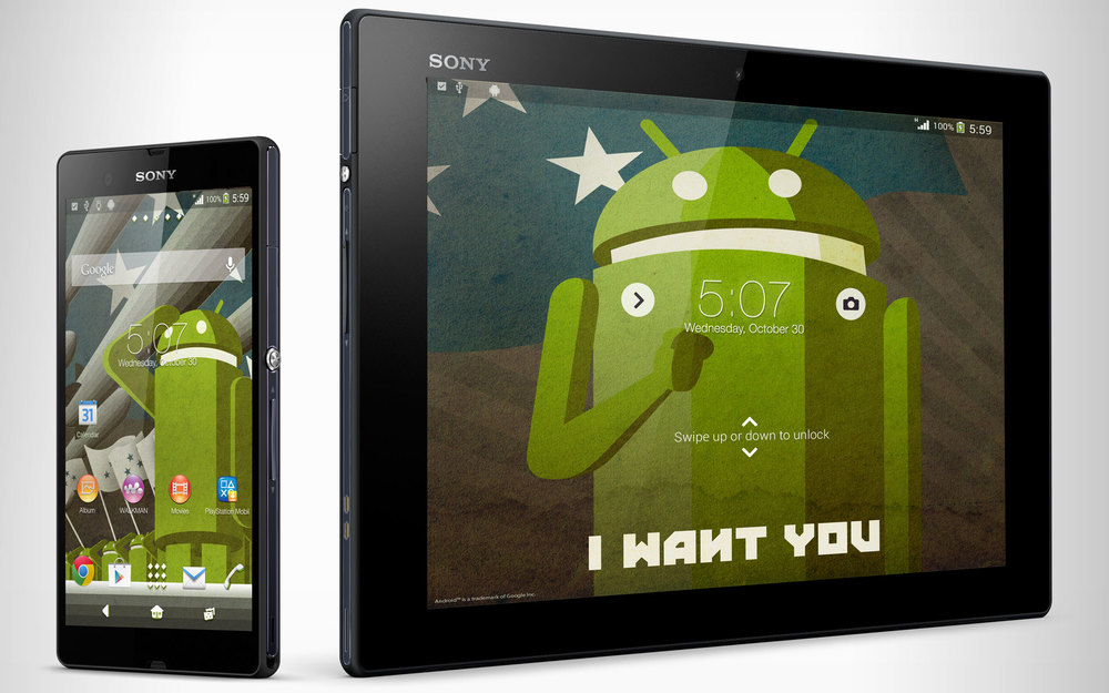 Probot Theme for Sony Xperia Phones